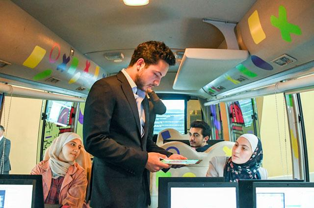 CROWN PRINCE ATTENDS PART OF EIGHTH GAMING SUMMIT HELD AT THE ROYAL TANK MUSEUM